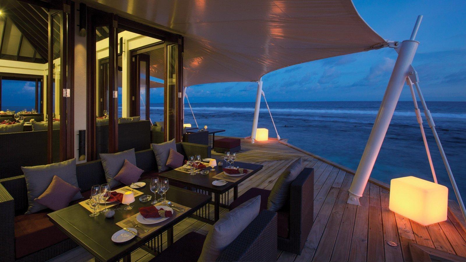Мальдивы, отель Atmosphere Kanifushi Maldives, ресторан Just Veg