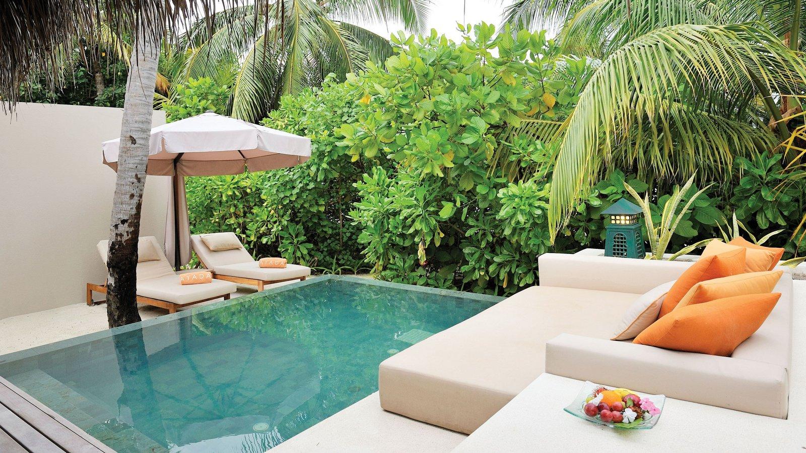 Мальдивы, отель Ayada Maldives, номер Beach Villa with Pool