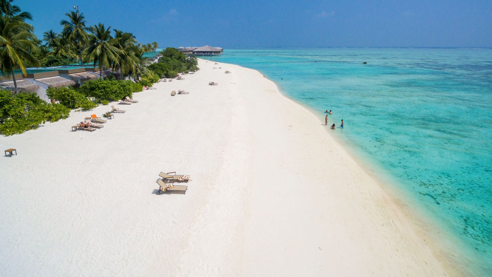 Мальдивы, отель Cocoon Maldives, пляж