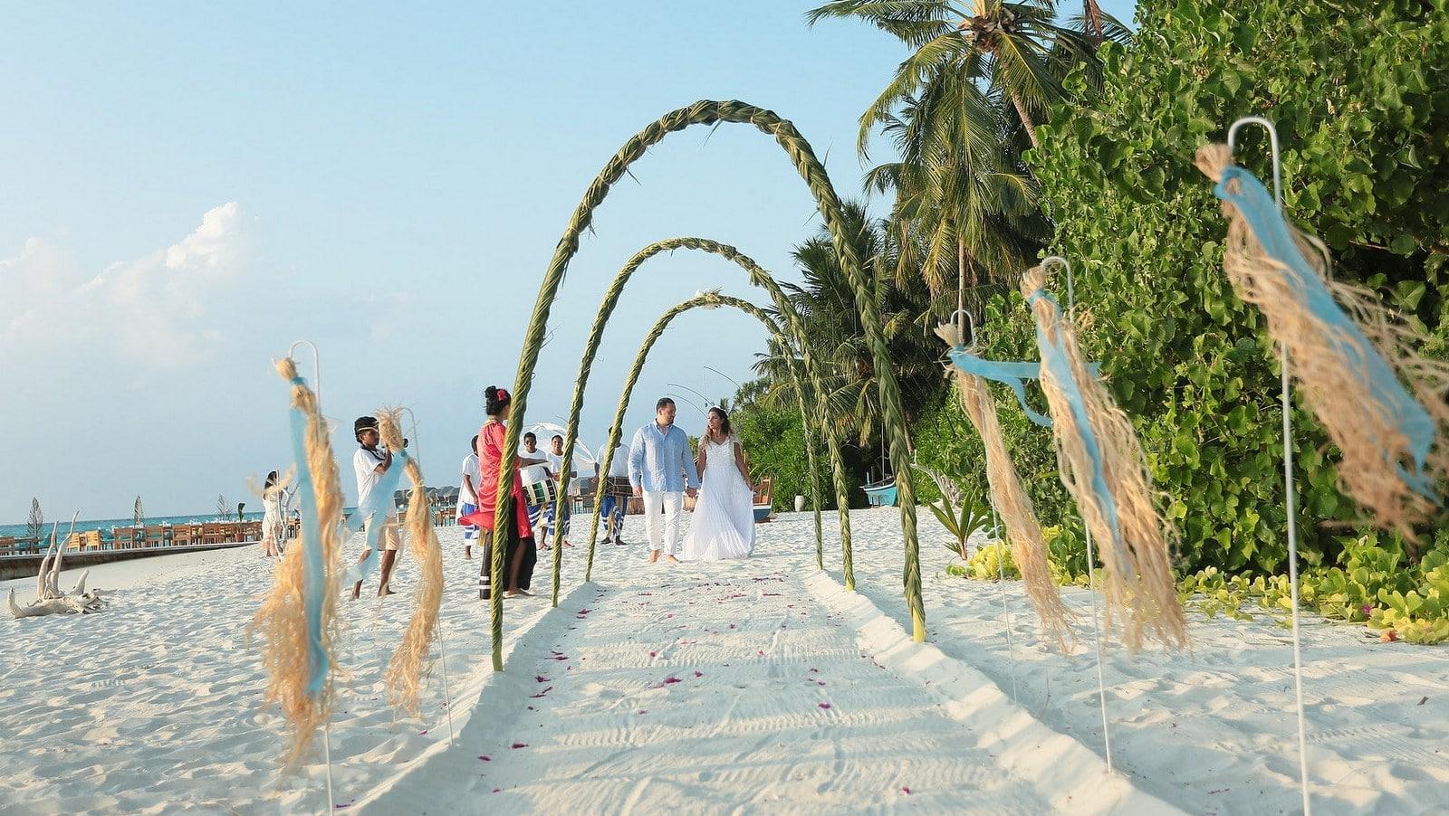Мальдивы, отель Ayada Maldives, свадебная церемония
