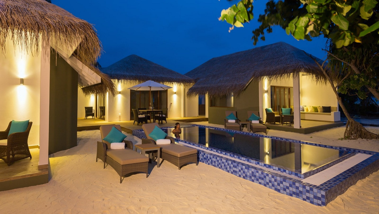 Мальдивы, отель Cocoon Maldives, номер Cocoon Suite Two Bed Room