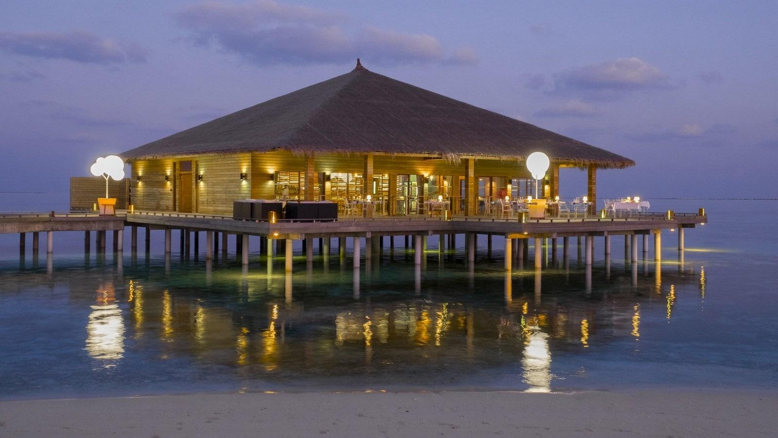 Мальдивы, отель Cocoon Maldives, ресторан treeOfLight
