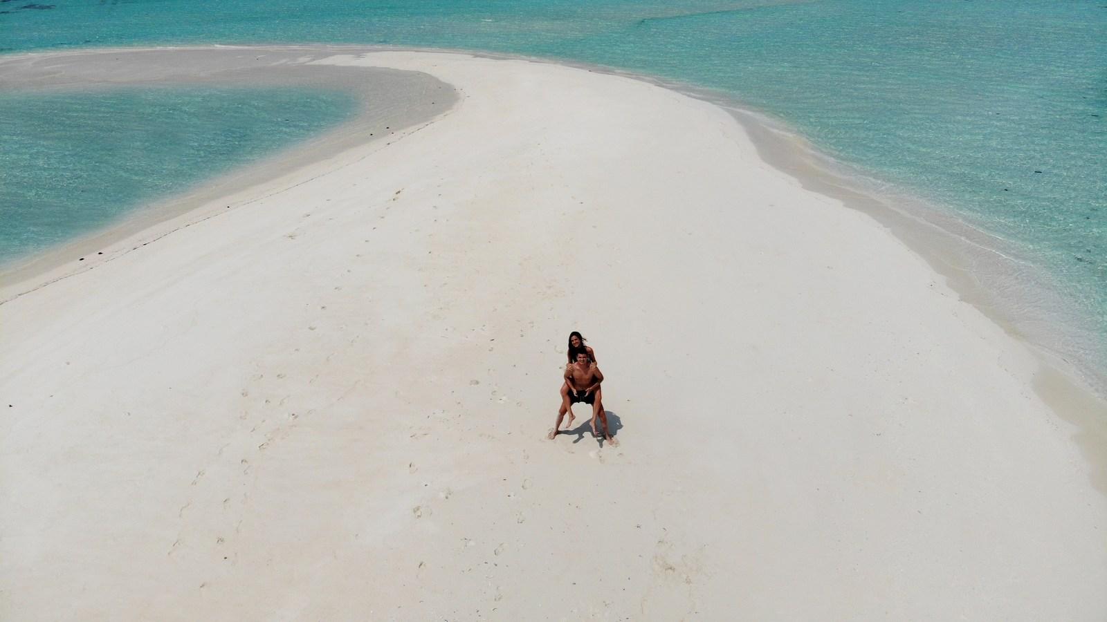 Мальдивы, отель Cocoon Maldives, песчаная коса