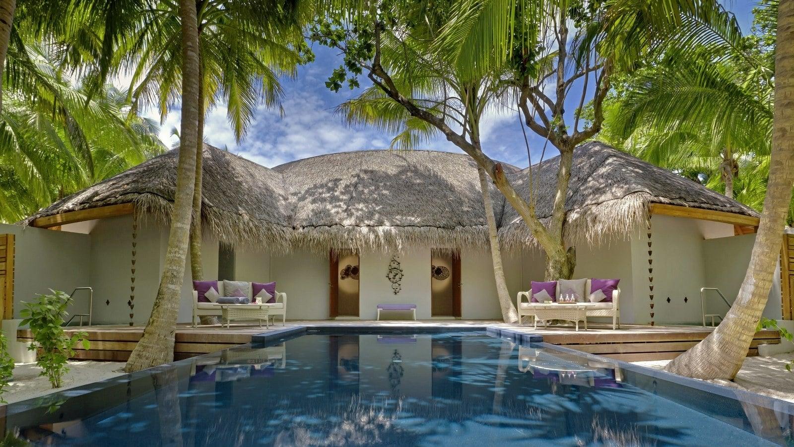 Мальдивы, отель Dusit Thani Maldives, спа