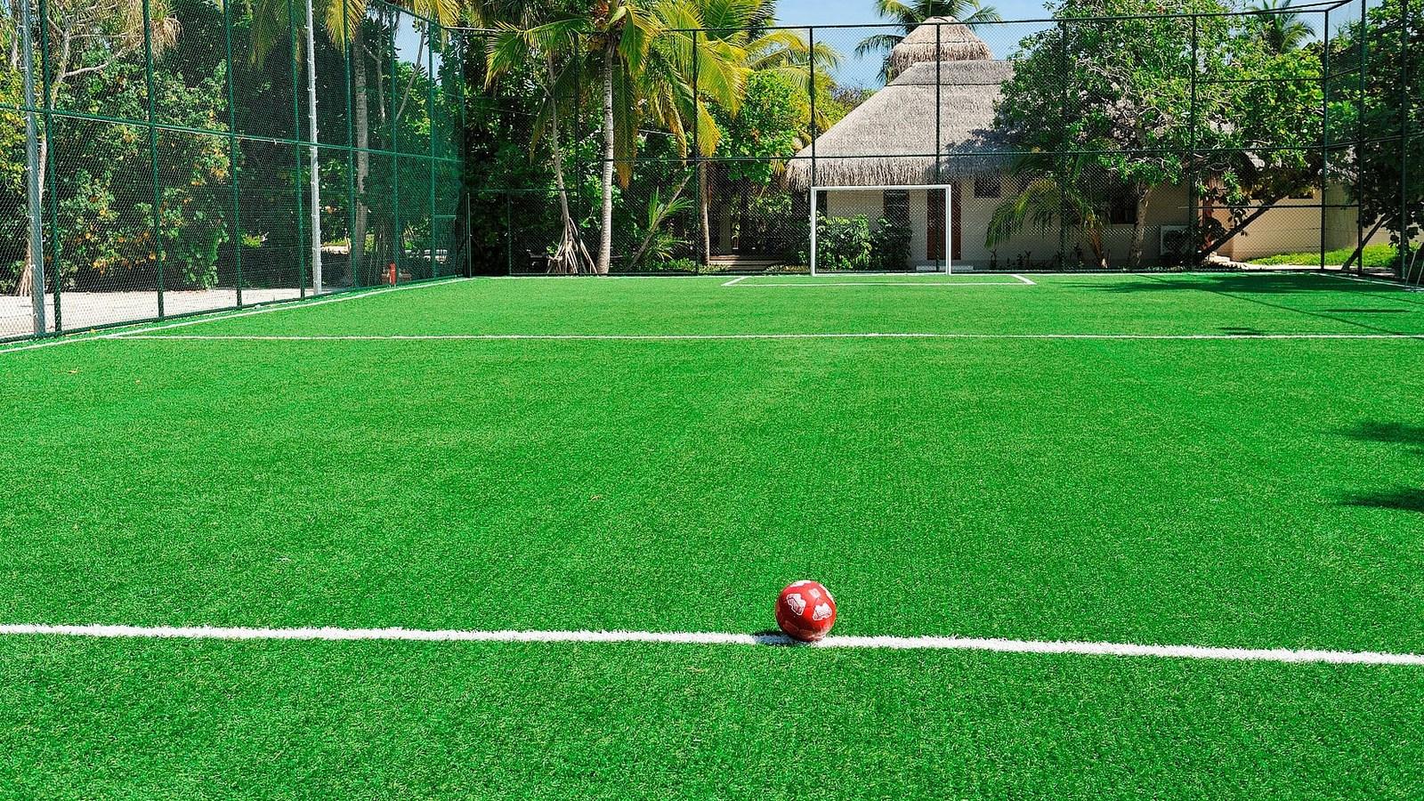 Мальдивы, отель Ayada Maldives, футбол