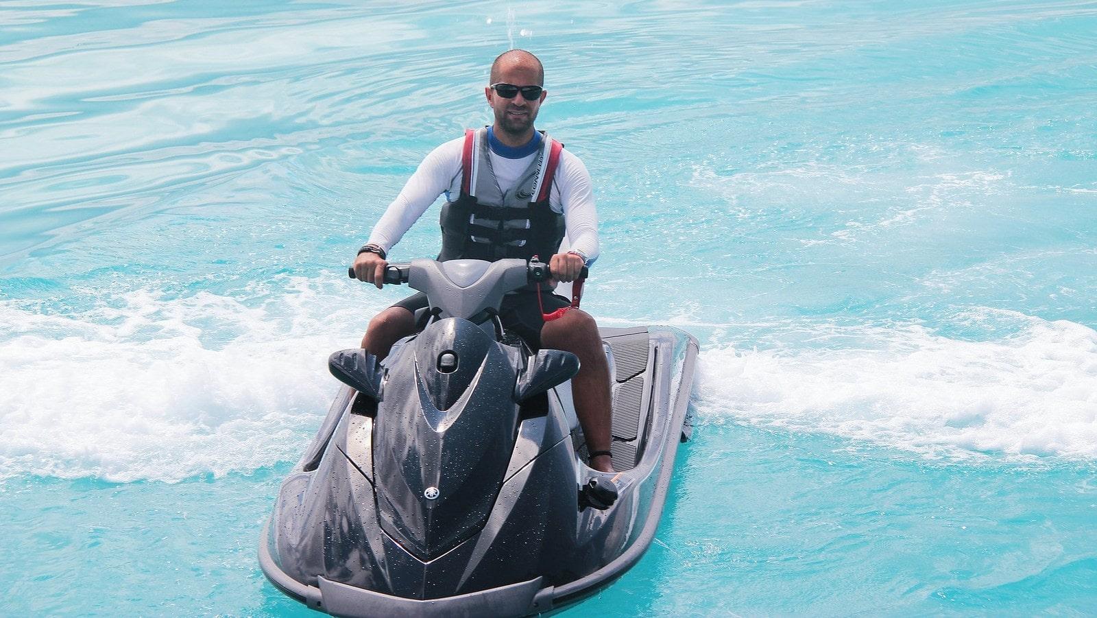 Мальдивы, отель Ayada Maldives, гидроциклы