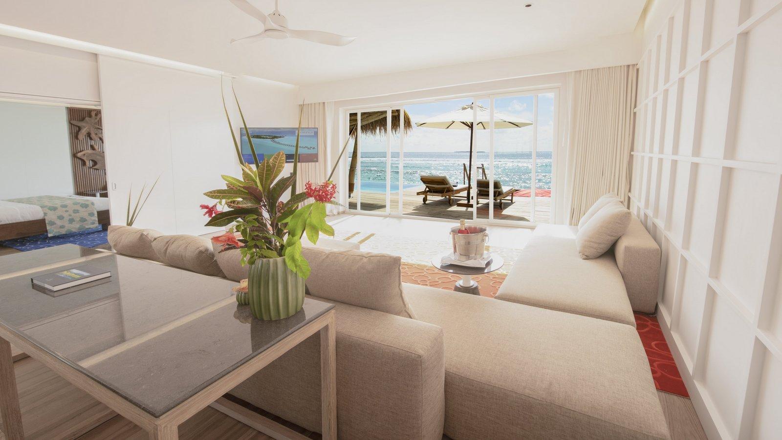 Мальдивы, отель Emerald Maldives Resort & Spa, номер Superior Water Villa with Pool