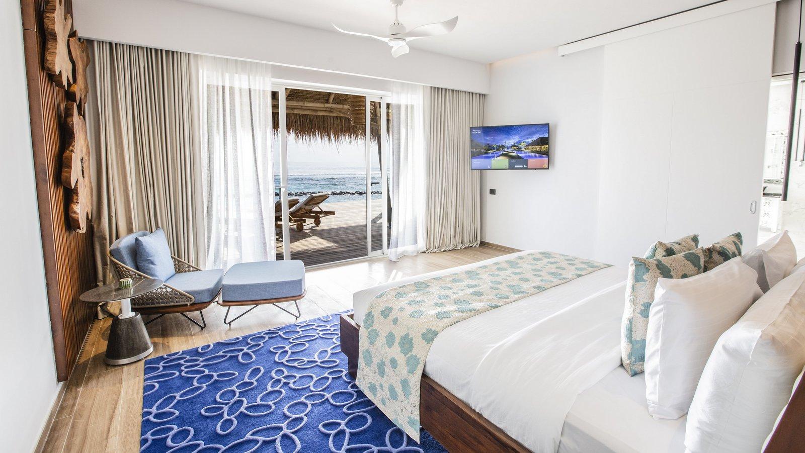Мальдивы, отель Emerald Maldives Resort & Spa, номер Presidential Water Villa