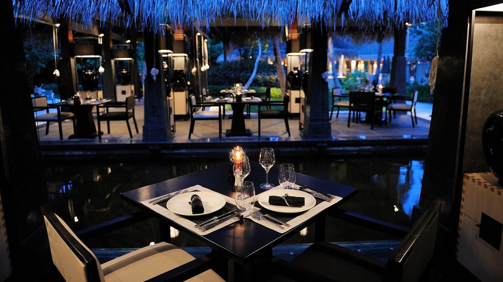Мальдивы, отель Ayada Maldives, ресторан Kai