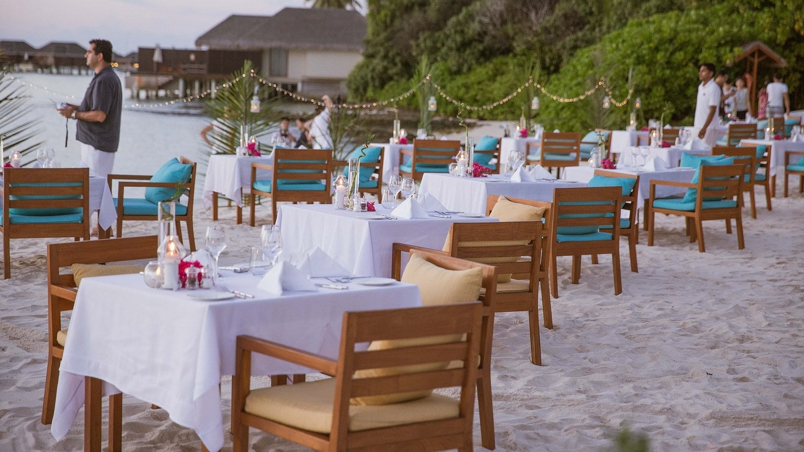 Мальдивы, отель Ayada Maldives, ресторан Magu