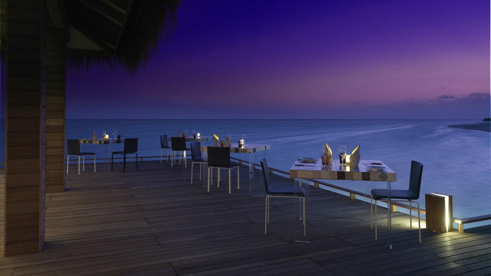 Мальдивы, отель Cocoon Maldives, ресторан Manta