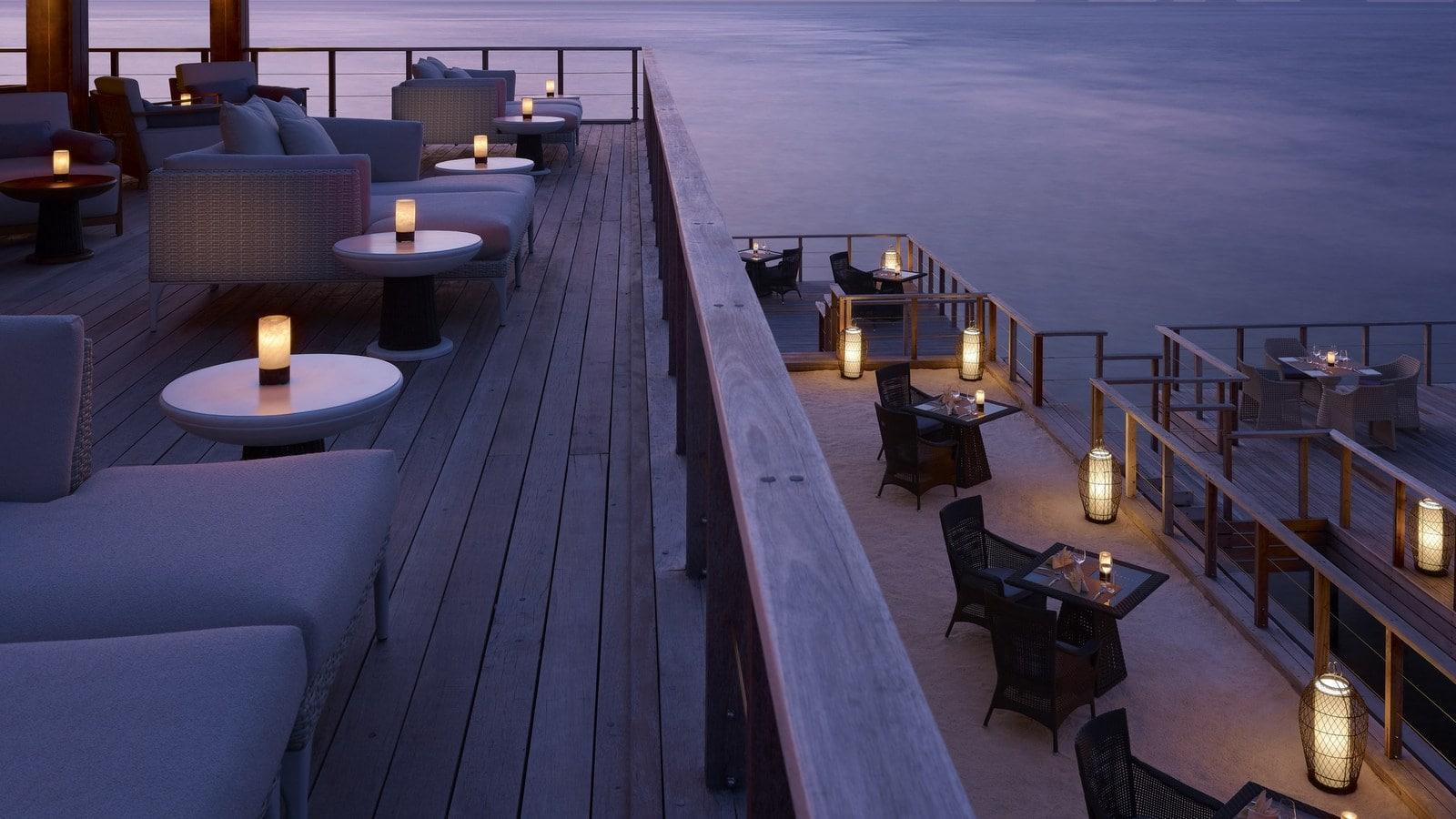 Мальдивы, отель Dusit Thani Maldives, ресторан Benjarong