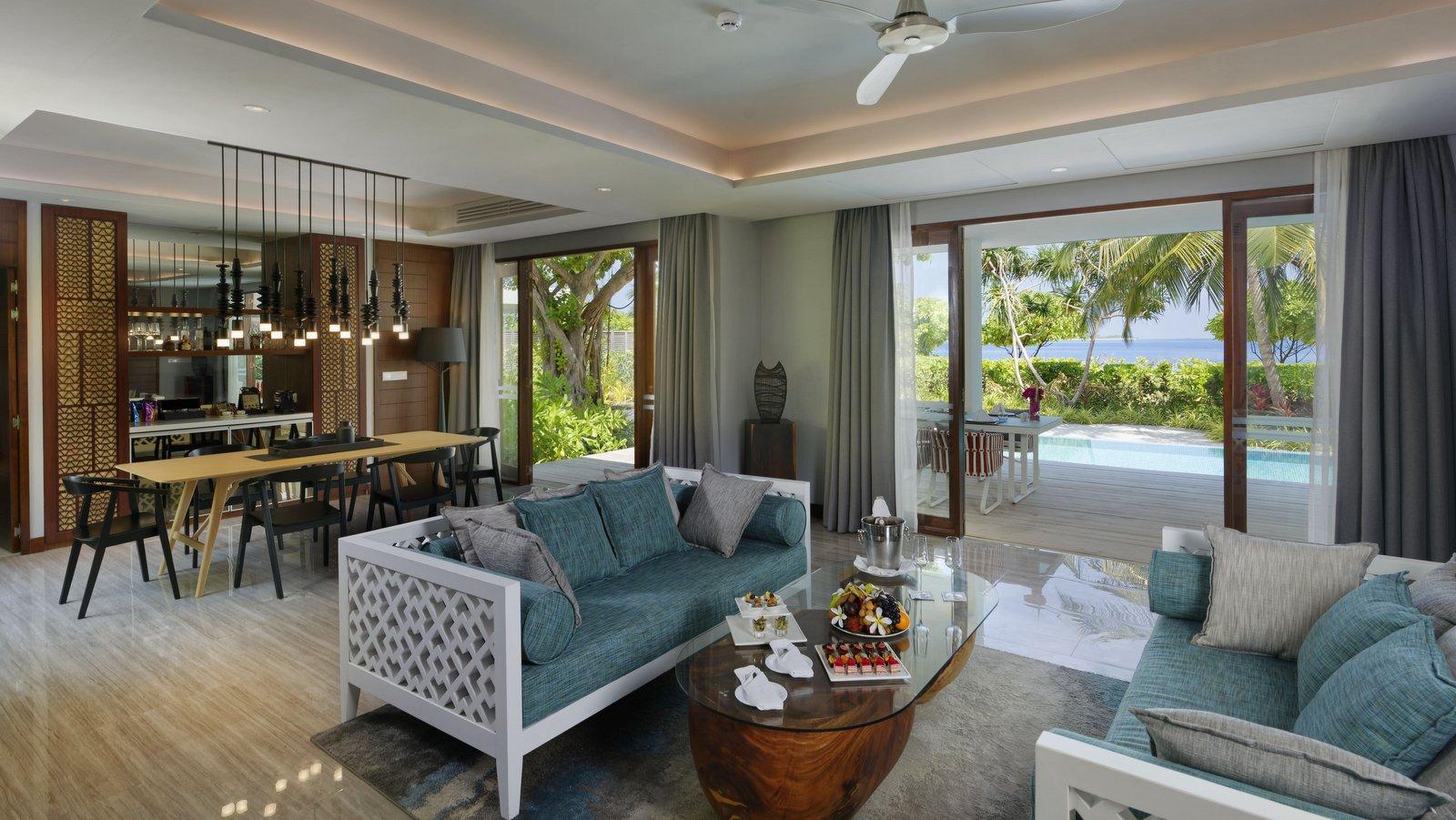 Мальдивы, отель Dhigali Maldives, номер Dhigali Suite