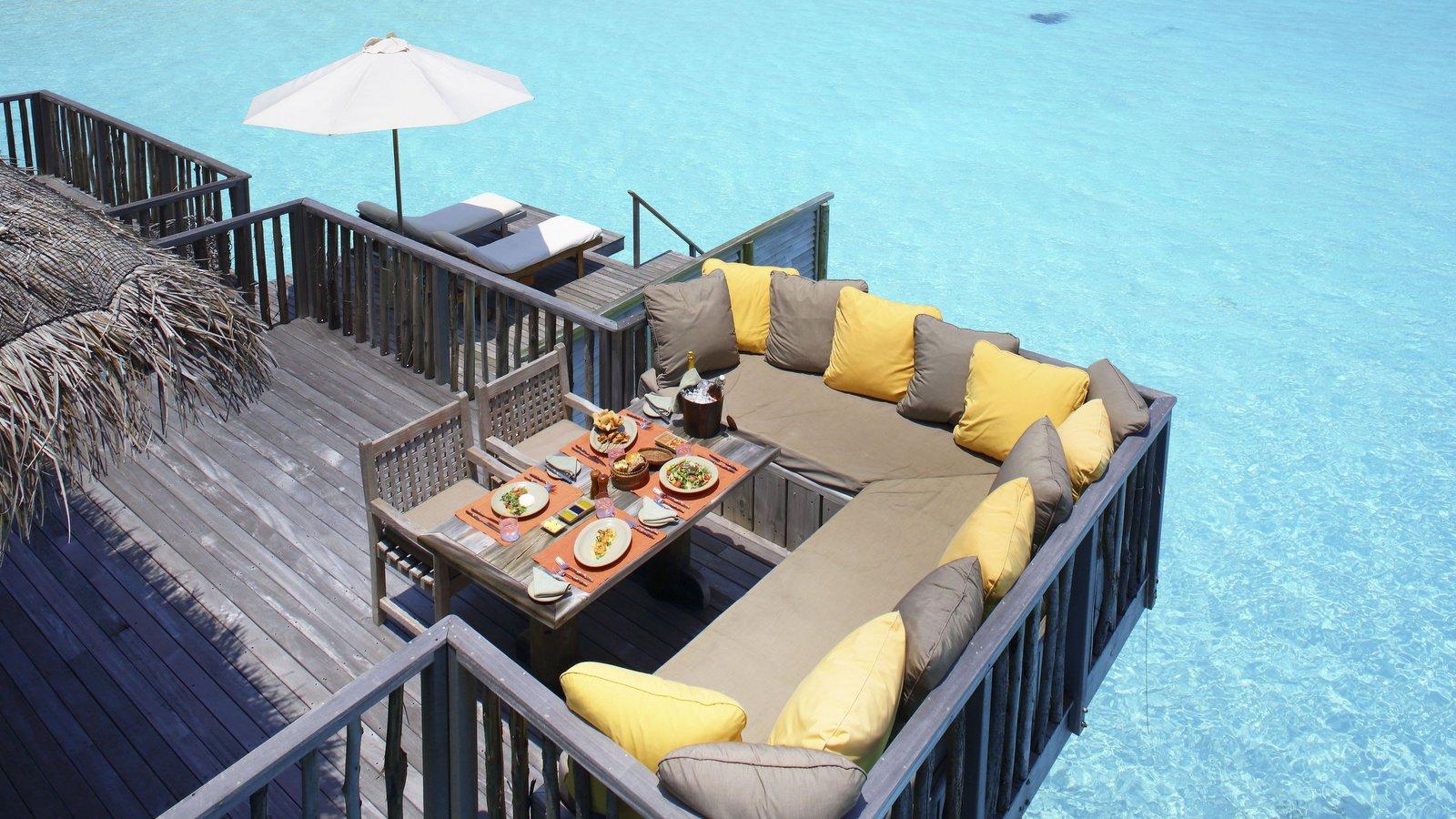 Мальдивы, отель Gili Lankanfushi Maldives, номер Family Villa
