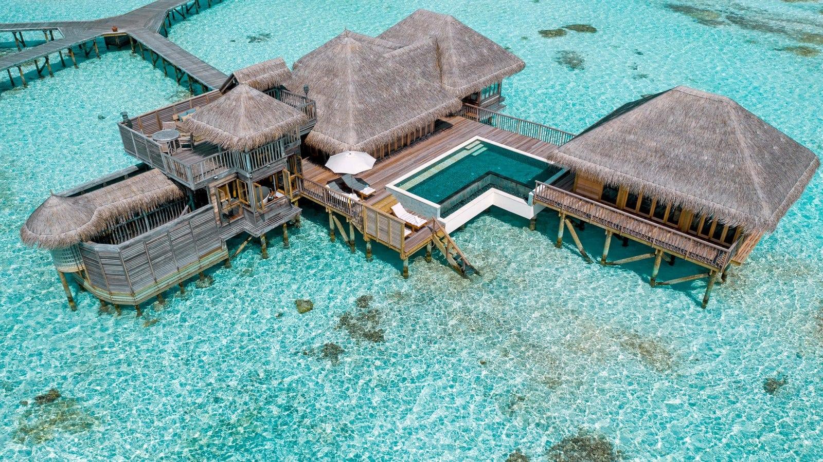 Мальдивы, отель Gili Lankanfushi Maldives, номер Family Villa with Pool