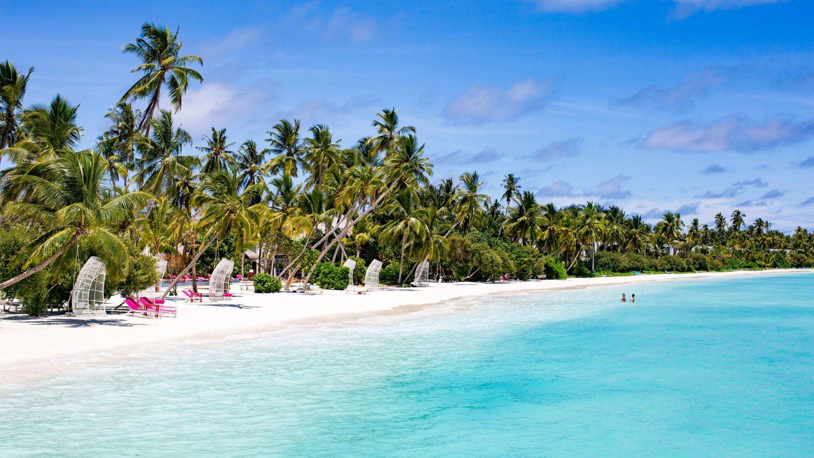 Мальдивы, отель Kandima Maldives, пляж