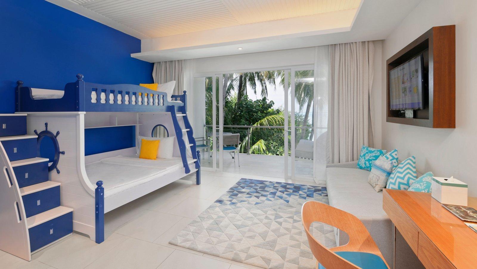 Мальдивы, отель Kandima Maldives, номер Family Sky Studio