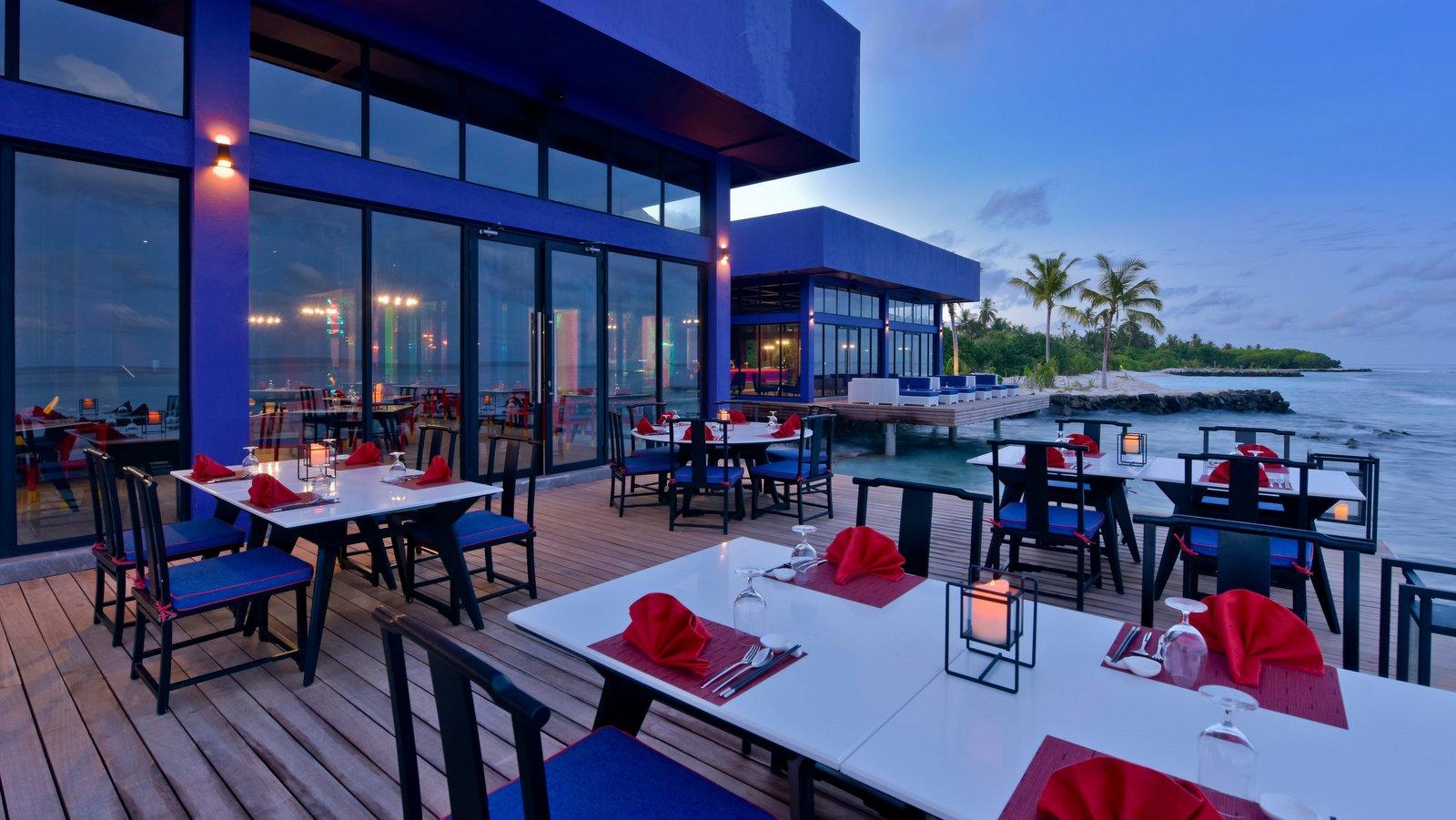Мальдивы, отель Kandima Maldives, Sea Dragon