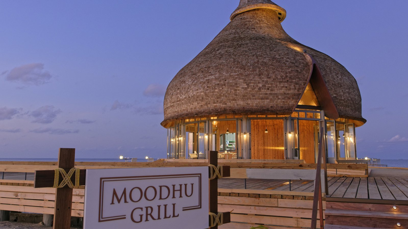 Мальдивы, отель LTI Maafushivaru Maldives, ресторан Moodhu Grill