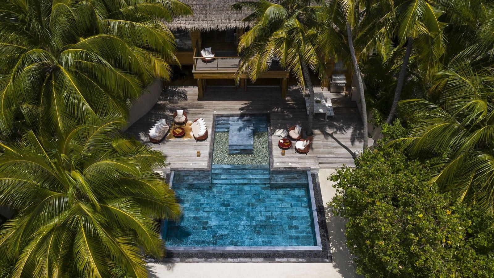 Мальдивы, отель Huvafen Fushi Maldives, номер Cube