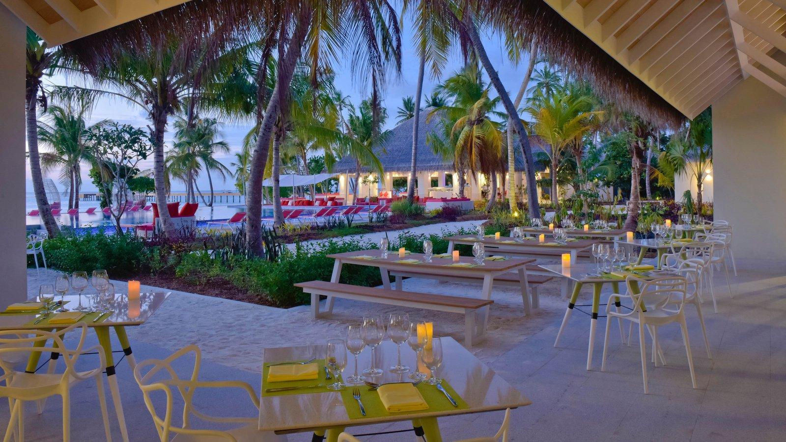 Мальдивы, отель Kandima Maldives, ресторан Flavour