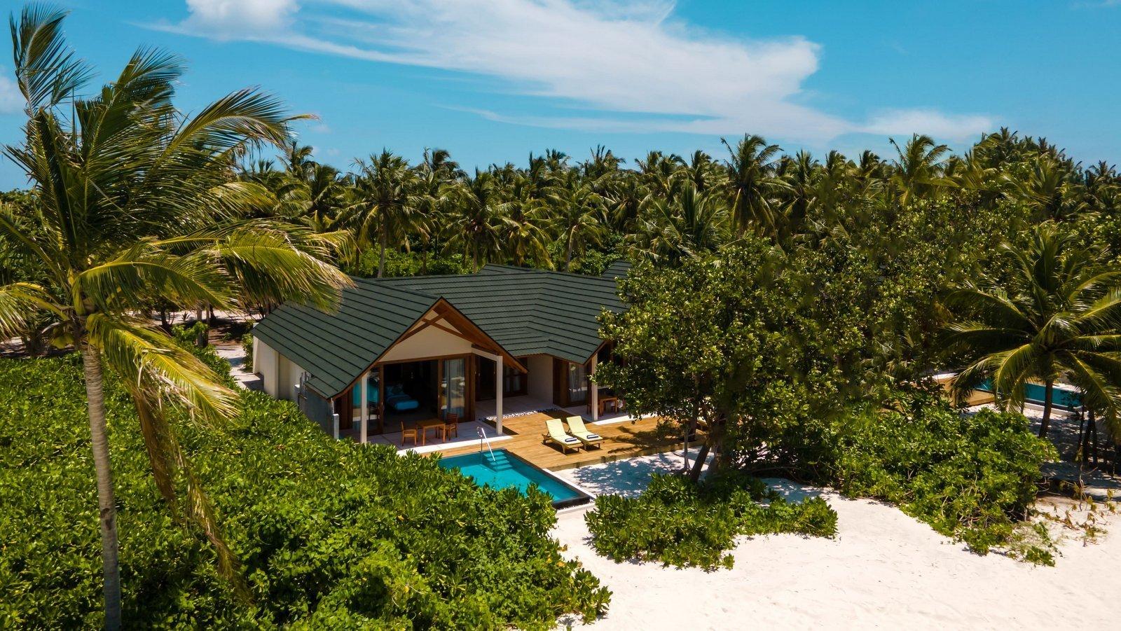 Мальдивы, отель Furaveri Island Resort, номер Two-Bedroom Beach Residence