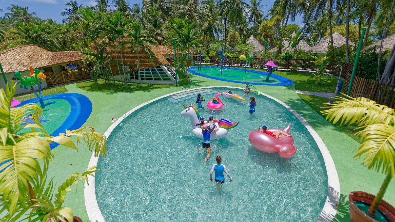 Мальдивы, отель Kuramathi Maldives, детский клуб