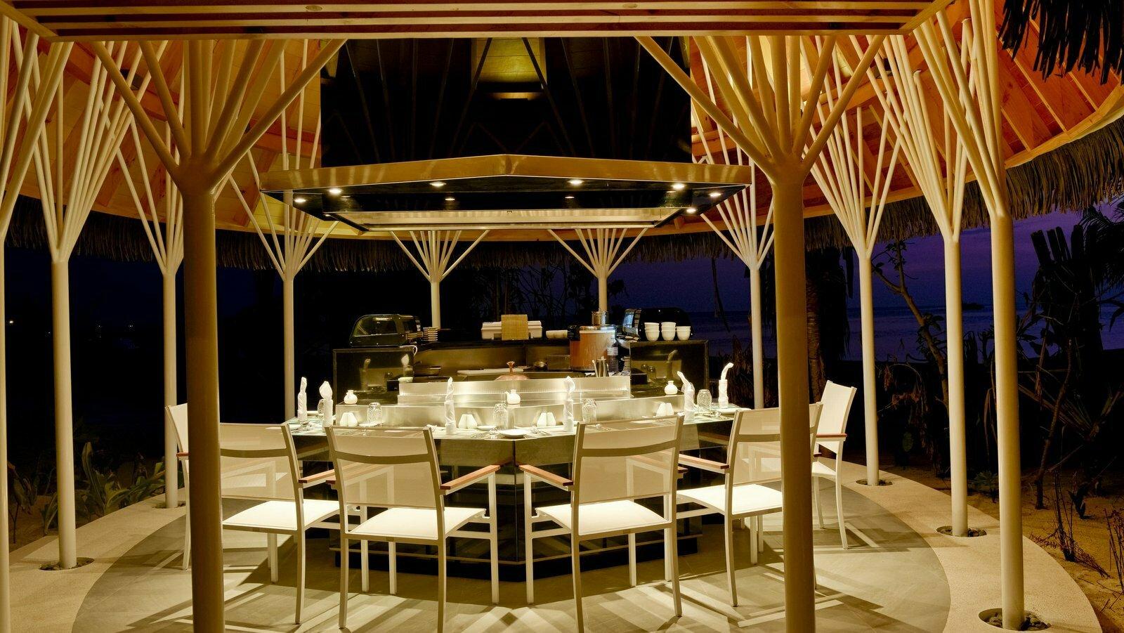 Мальдивы, отель Kandolhu Maldives, ресторан Banzai