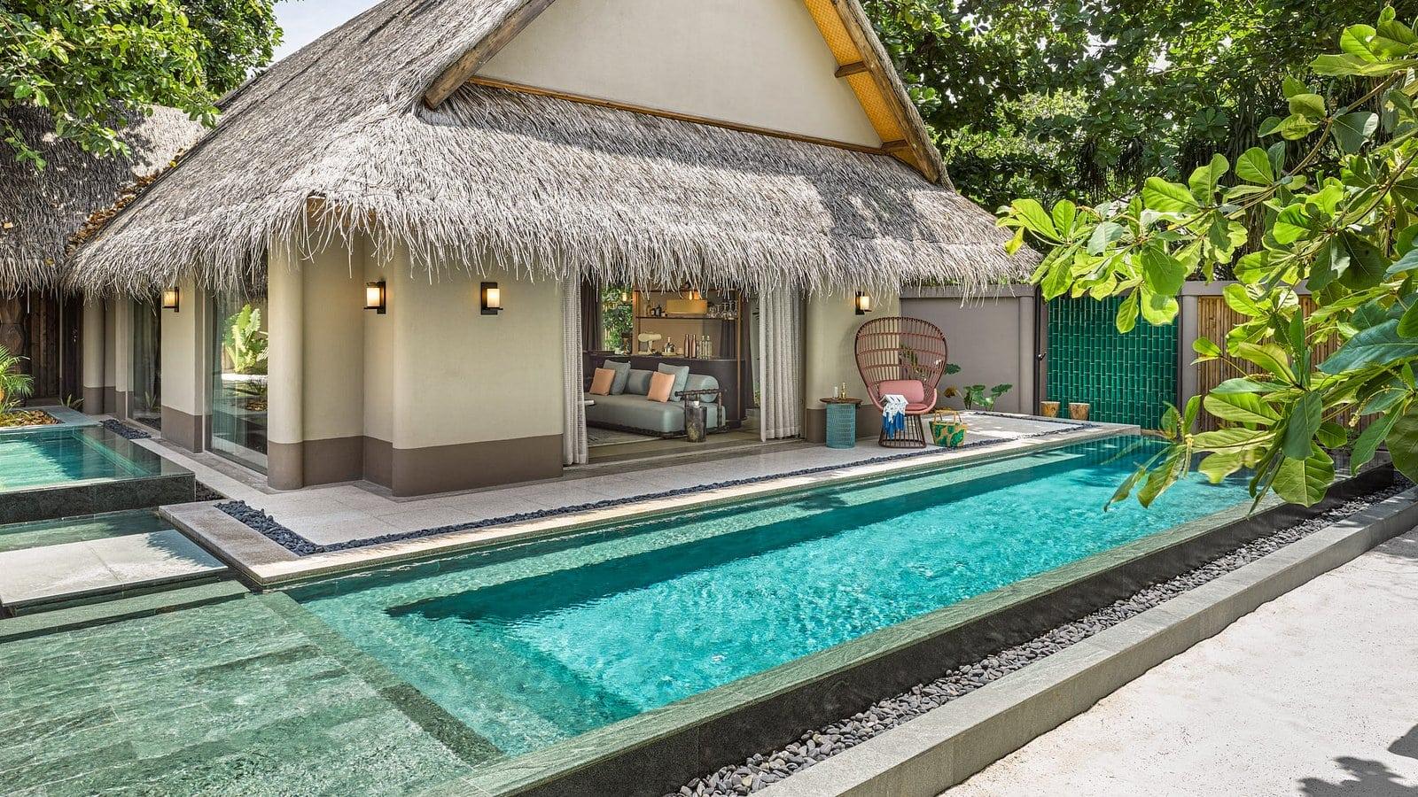 Мальдивы, отель Joali Maldives, номер Beach Villa with Pool