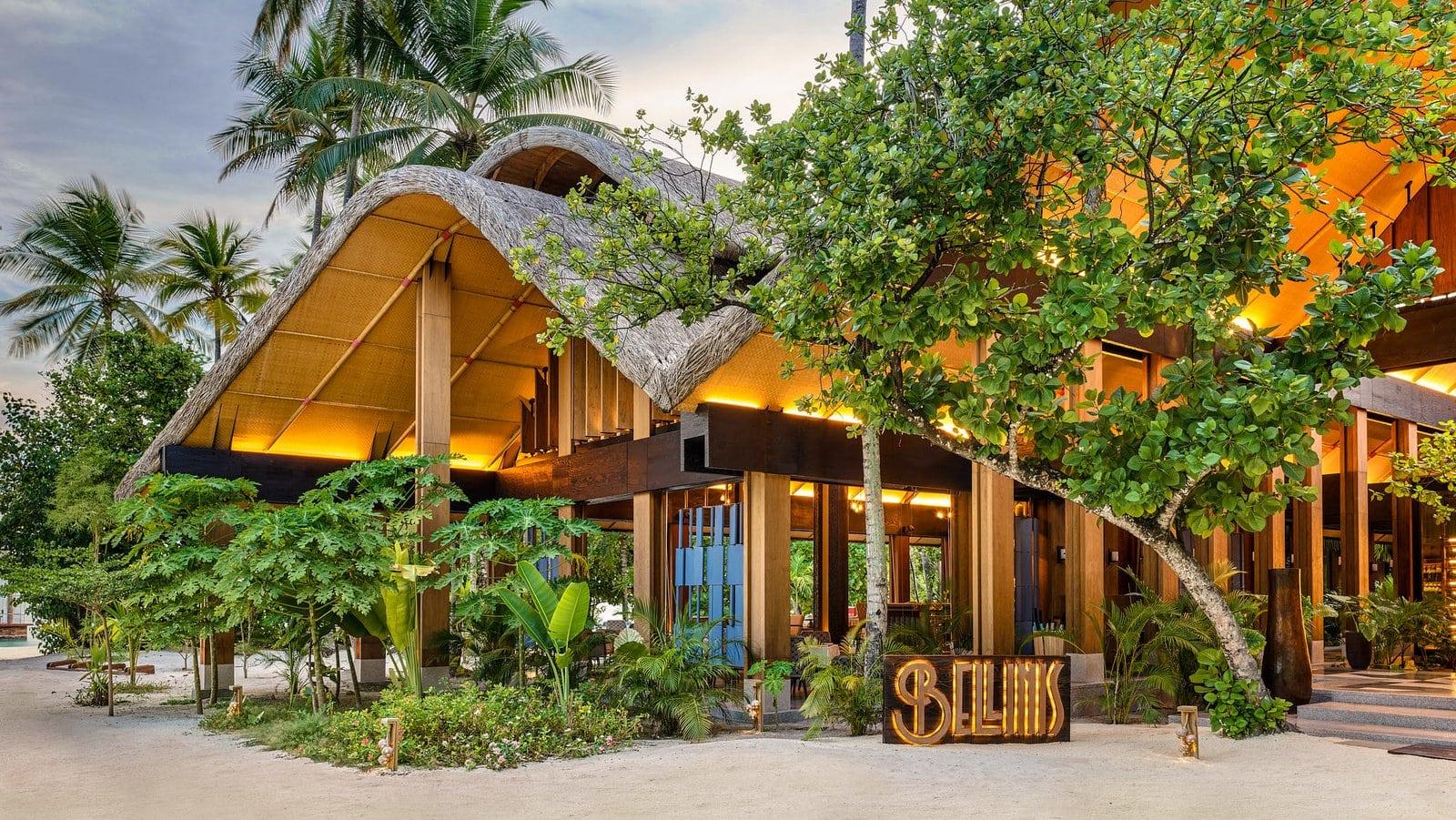 Мальдивы, отель Joali Maldives, ресторан Bellinis