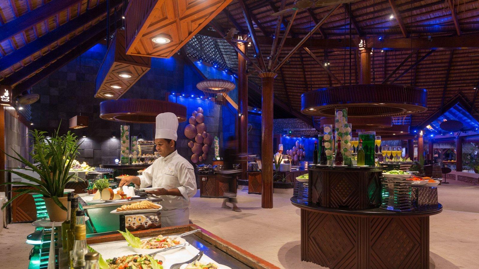 Мальдивы, отель Kuredu Island Resort, ресторан Bonthi