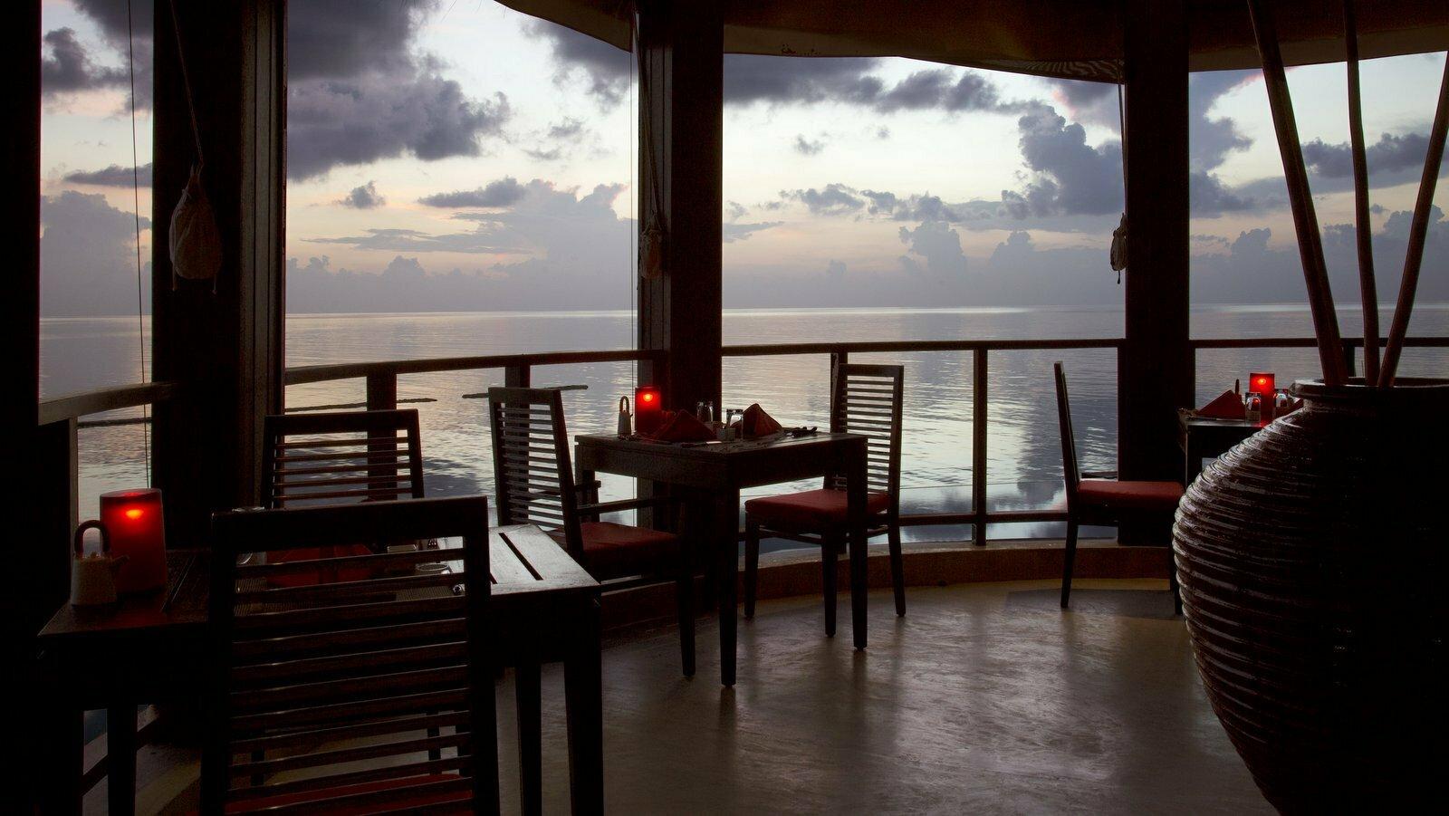 Мальдивы, отель Coco Palm Bodu Hithi, ресторан TSUKI