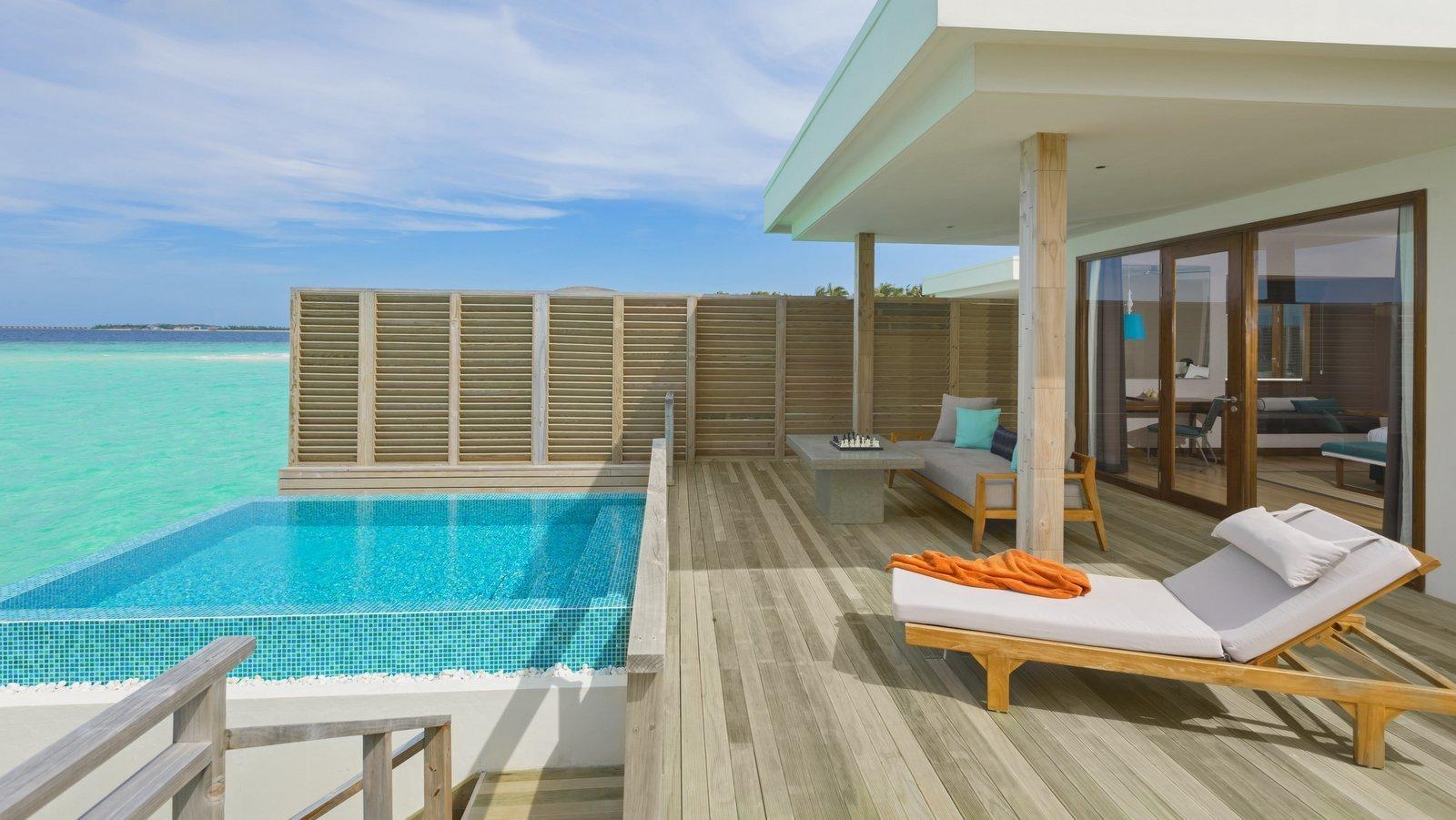 Мальдивы, отель Dhigali Maldives, номер Lagoon Villa with Pool