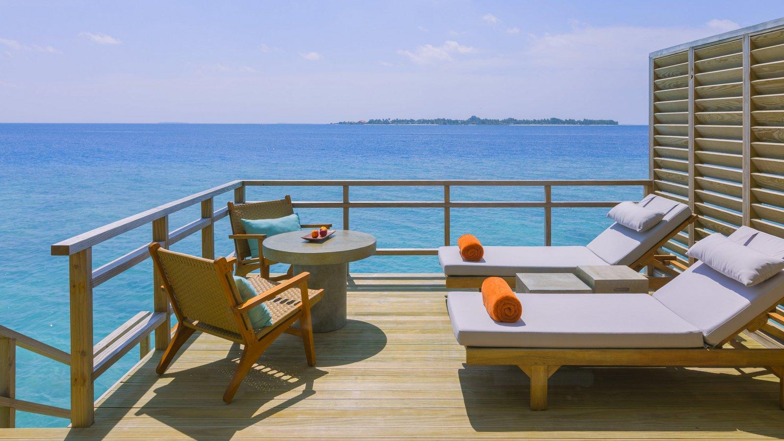 Мальдивы, отель Dhigali Maldives, номер Water Villa