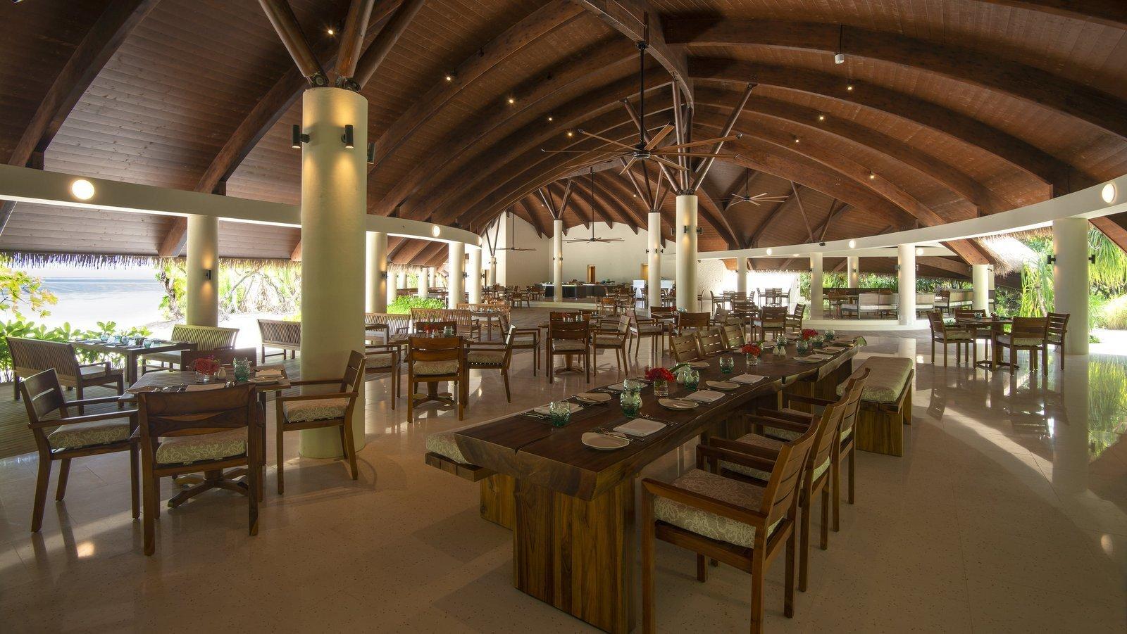 Мальдивы, отель The Residence Maldives at Dhigurah, ресторан The Dining Room