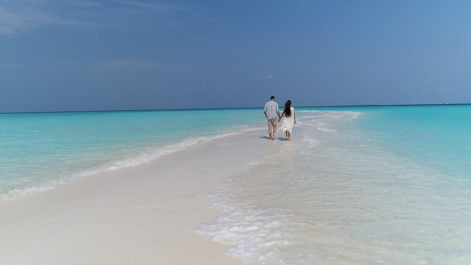 Мальдивы, отель The Nautilus Maldives, песчаная коса
