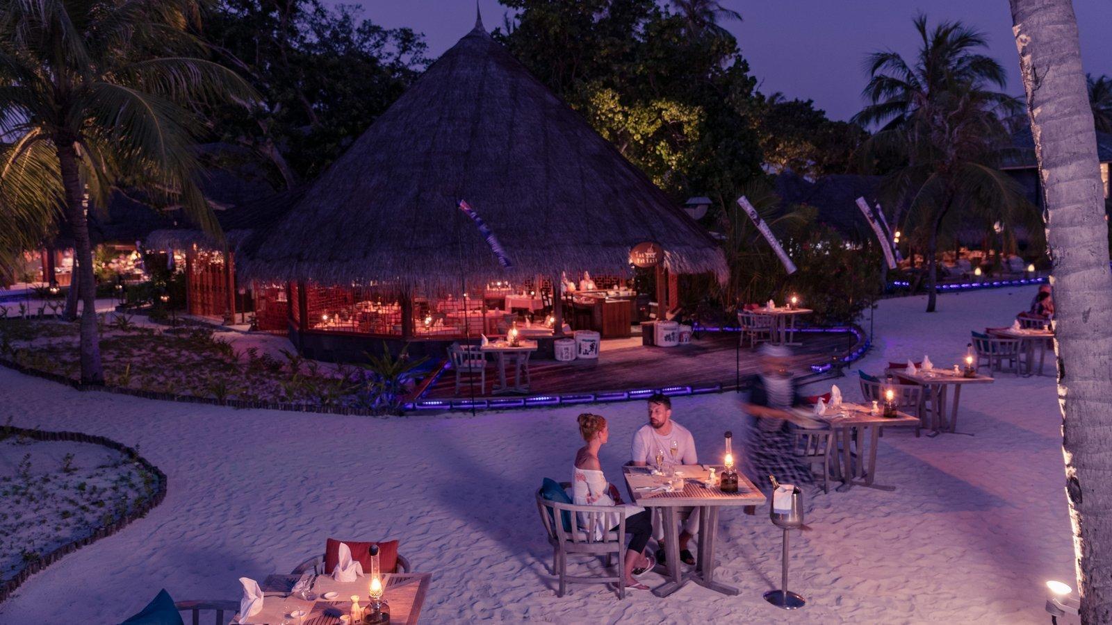 Мальдивы, отель Kuredu Island Resort, ресторан Far East