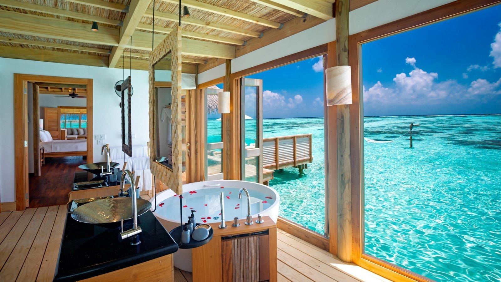 Мальдивы, отель Gili Lankanfushi Maldives, номер The Private Reserve