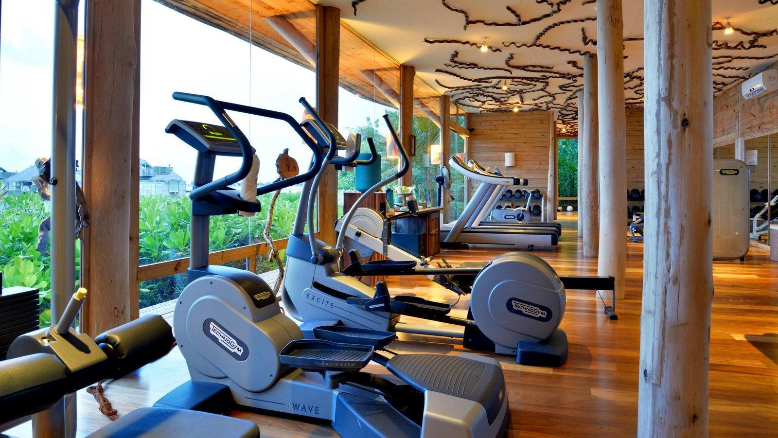 Мальдивы, отель Gili Lankanfushi Maldives, фитнес центр