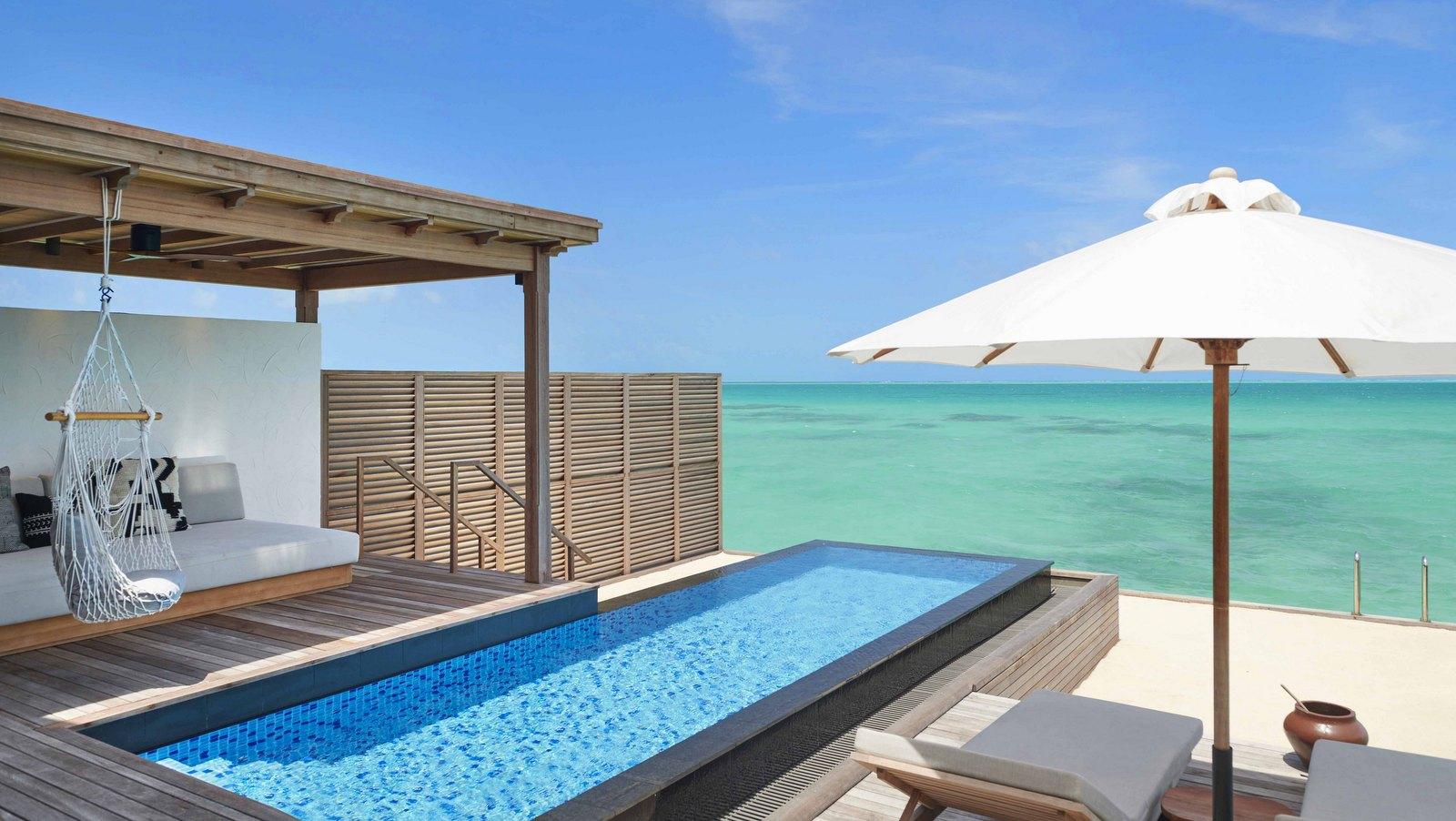 Мальдивы, отель Fairmont Maldives Sirru Fen Fushi, номер Grand Water Sunset Villa
