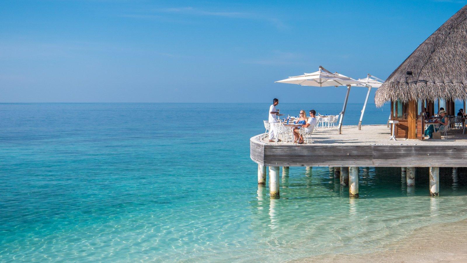 Мальдивы, отель Huvafen Fushi Maldives, ресторан Celsius