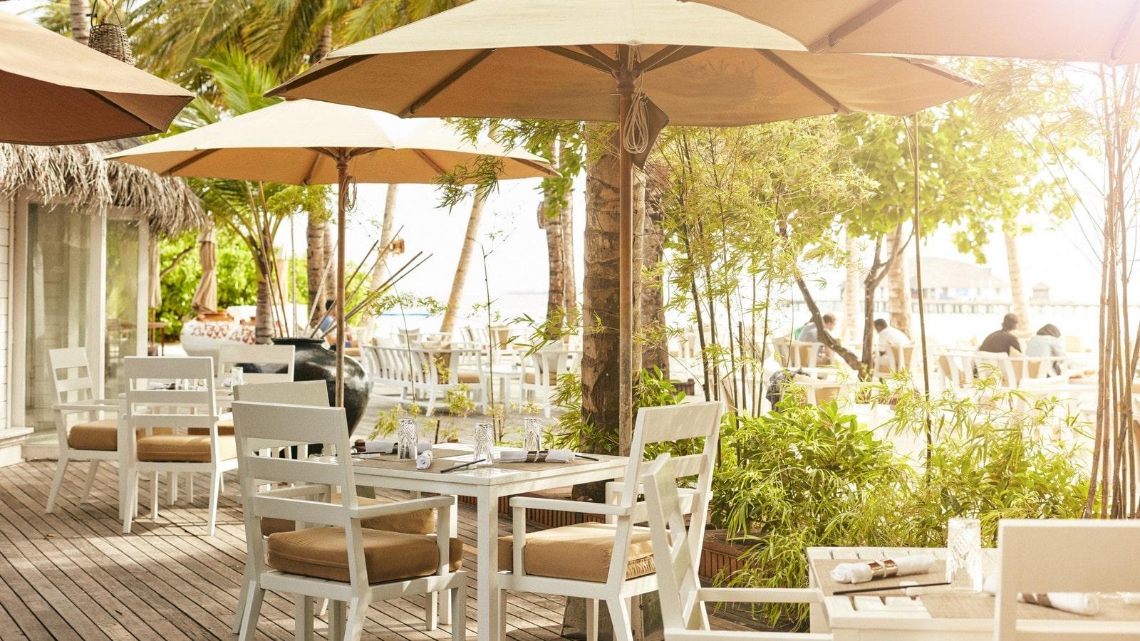 Мальдивы, отель Sun Siyam Iru Fushi, ресторан Bamboo