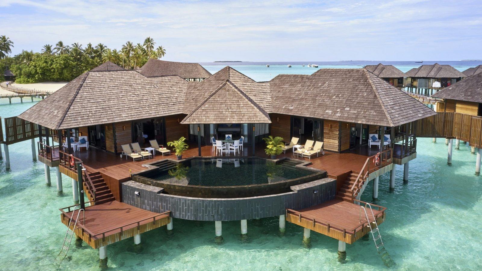 Мальдивы, отель Sun Siyam Iru Fushi, номер Aqua Retreat