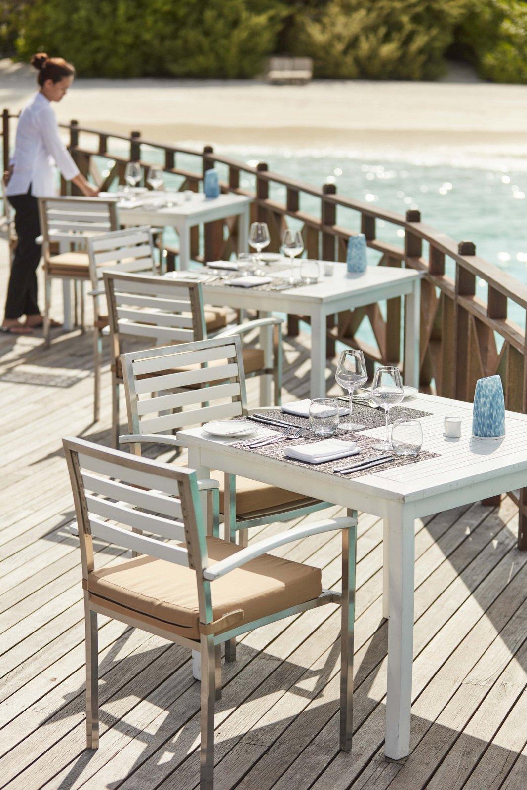 Мальдивы, отель Sun Siyam Iru Fushi, ресторан Flavours
