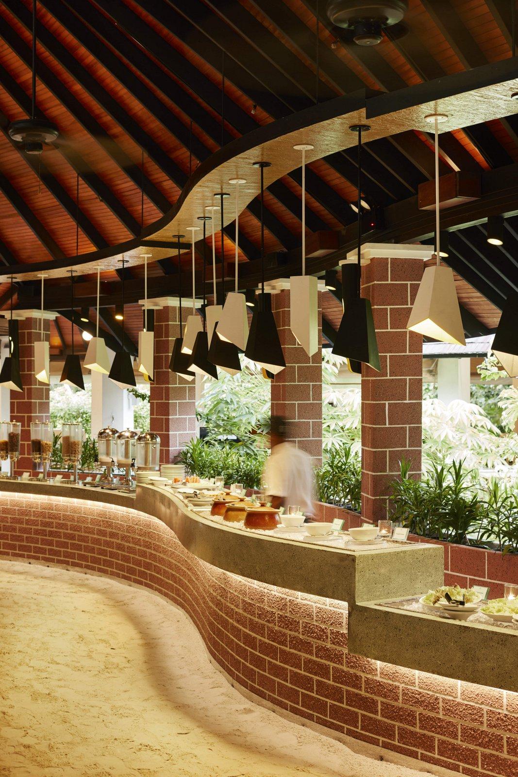 Мальдивы, отель Sun Siyam Iru Fushi, ресторан Iru