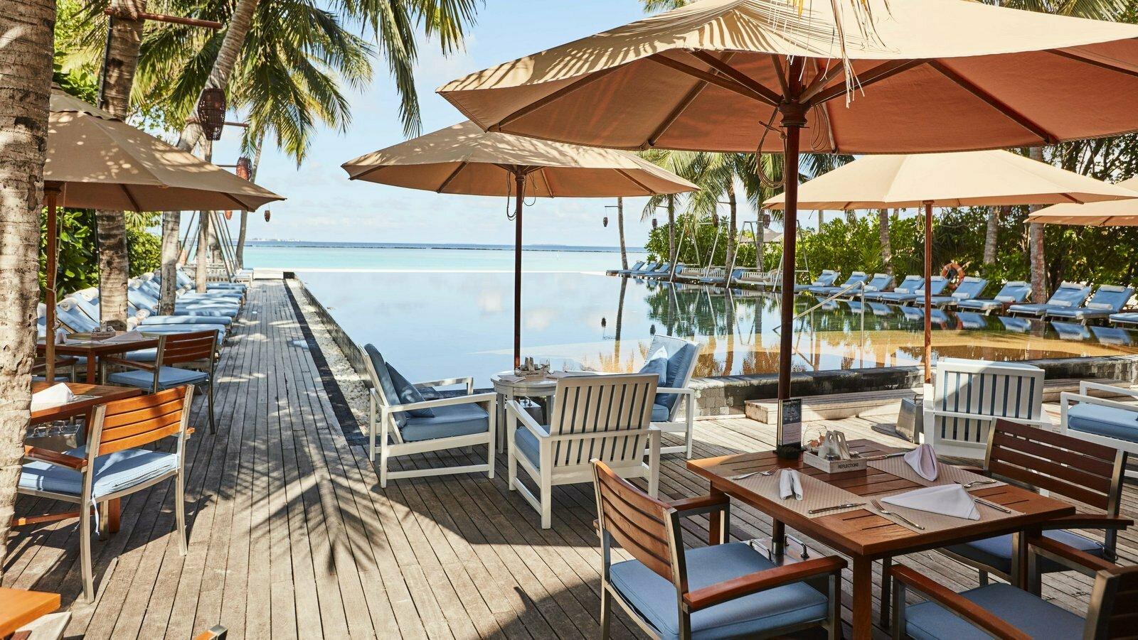 Мальдивы, отель Sun Siyam Iru Fushi, ресторан Reflections