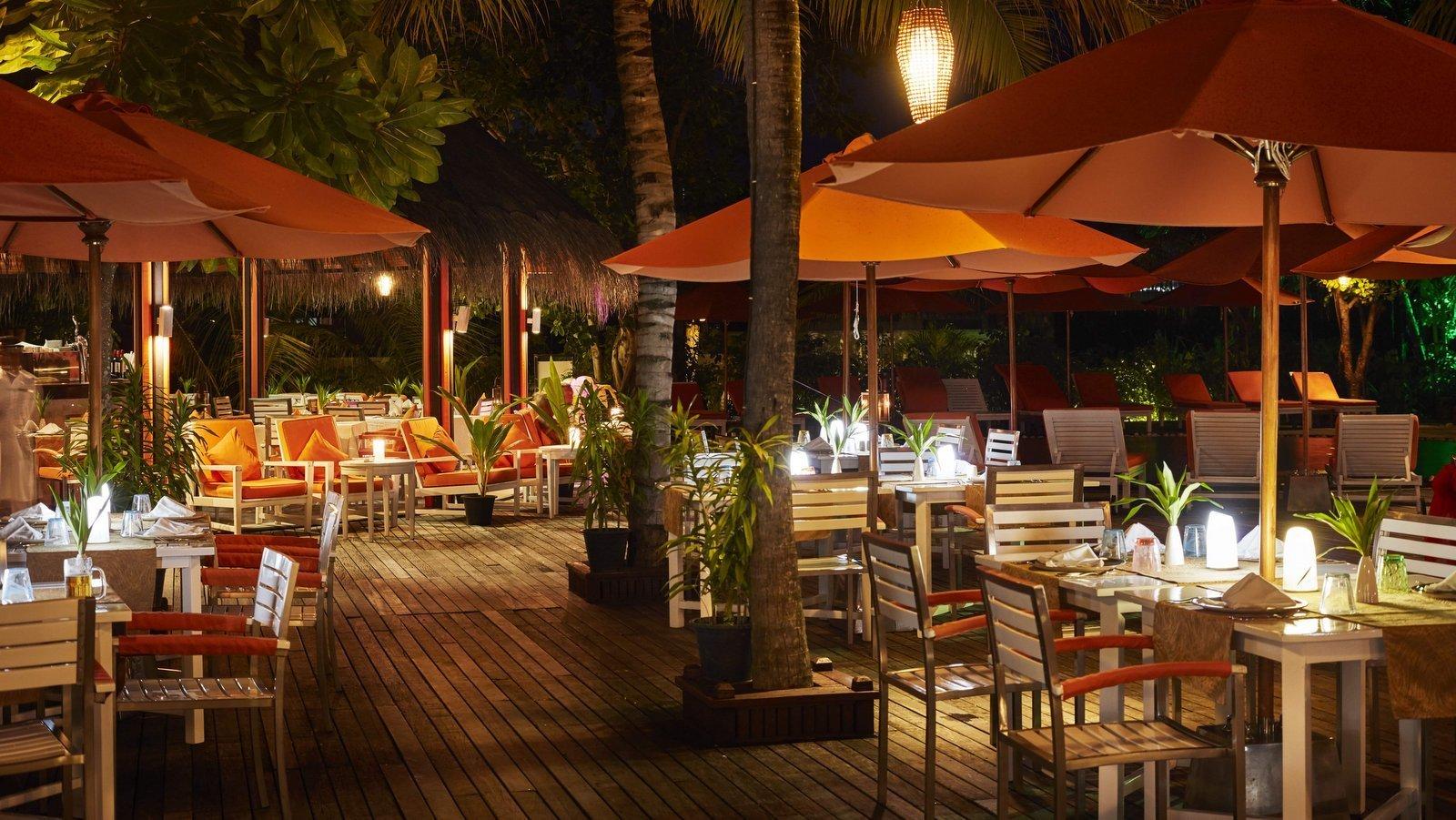 Мальдивы, отель Sun Siyam Iru Fushi, ресторан Taste of India