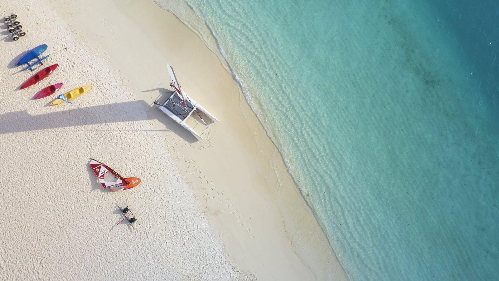 Мальдивы, отель Sun Siyam Iru Fushi, пляж