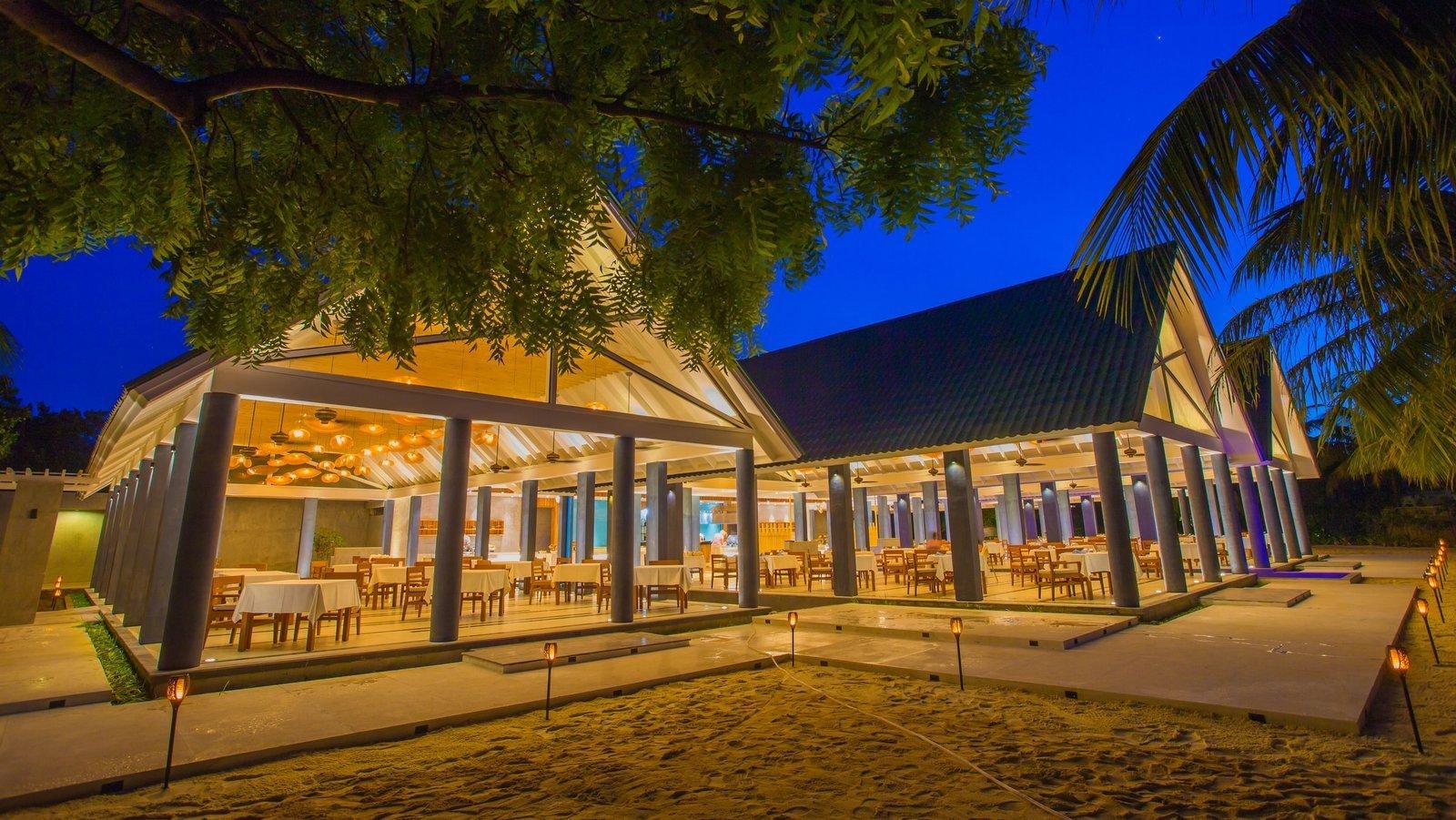 Мальдивы, отель Furaveri Island Resort, ресторан Jaafaiy