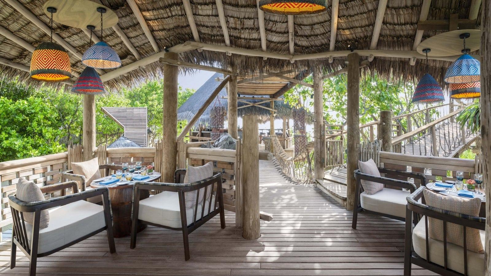 Мальдивы, отель JW Marriott Maldives Resort, ресторан Kaashi